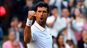 Novak Djokovic had no issues against Denis Kudla