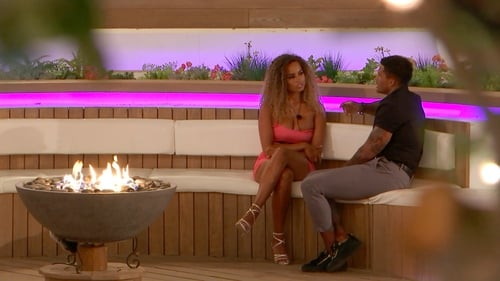 Poor old Amber gave Michael a grilling down at the fire pit. Love Island continues at 9.00pm on Virgin Media Two on Thursday
