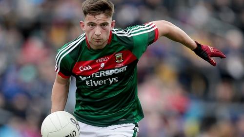 Evan O'Brien shone for Mayo
