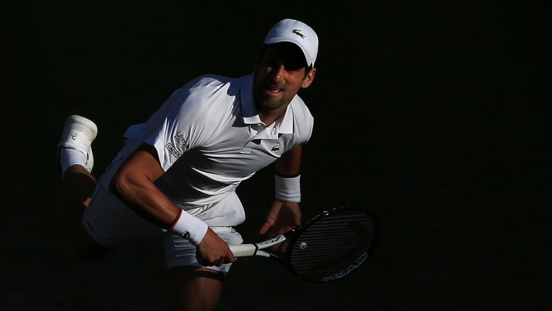 Djokovic embroiled in tense post-match press conference