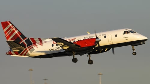 The three routes to and from Carlisle Lake District Airport will be operated by the 33-seat Saab 340B plane