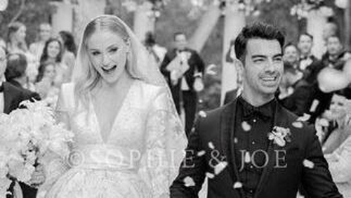 Sophie Turner Wedding.Look Sophie Turner Shares Beautiful Wedding Picture