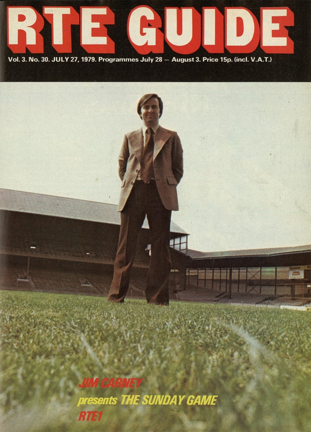 RTÉ Guide 27 July 1979 Cover 'The Sunday Game'