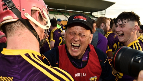 MJ Reck was delighted to get in to the Leinster final