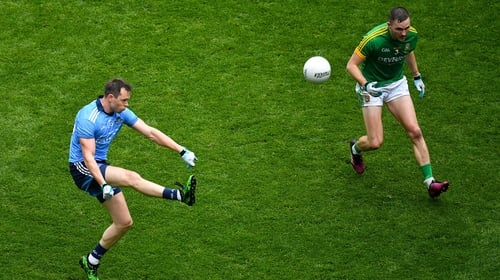 Dean Rock in action against Meath in the Leinster Final