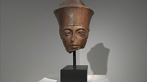 Christie's sold the 28.5cm quartzite head at one of its most controversial auctions in years