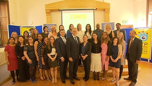 The teachers graduated after taking part in a five-month course, run by the Marino Institute of Education