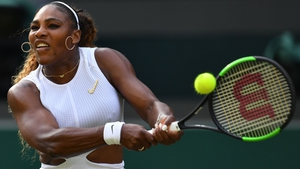 Serena Williams is into the third round