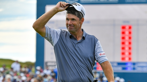 Padraig Harrington: 'You couldn't have asked for more to be honest'