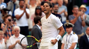 Rafael Nadal had to dig deep to beat the Australian
