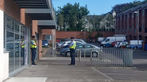 Two apartments in the complex have been sealed off by gardaí