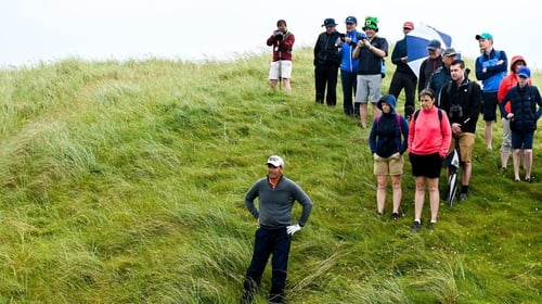 Harrington was unable to replicate his form from day one at the Irish Open