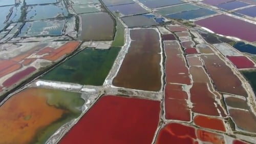 The Yuncheng Salt Lake is one of the three great sodium sulphate inland salt lakes in the world