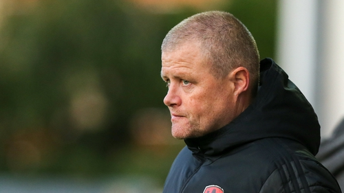 John Cotter was in charge for 19 Premier Division games