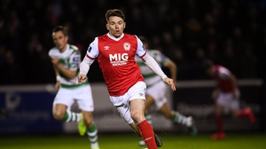 Dean Clarke hit the winner for St Pat's