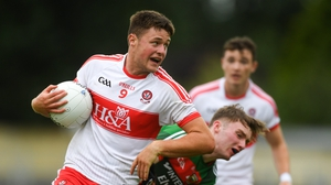 Dara Rafferty nabbed a goal for Derry to help them over the line