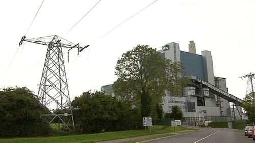 The EPA is investigating the issue at the Lough Ree Power plant in Lanesborough, Co Longford