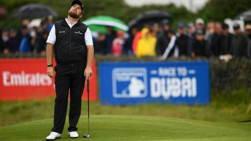 Shane Lowry had to settle for a level par round on Saturday