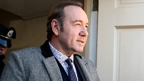 Kevin Spacey denies the allegations