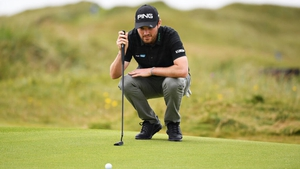 Cormac Sharvin carded a third round 66 in Lahinch