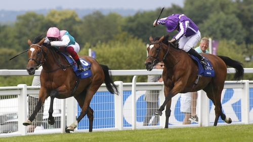 Frankie Dettori and Enable win the  2019 Eclipse from Magical