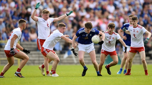 Tyrone claimed the first win of the day over Cavan