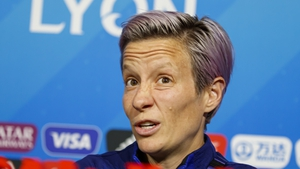 Rapinoe let loose at the pre-final press conference