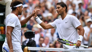 Rafal Nadal dispatched Jo-Wilfried Tsonga in straight sets