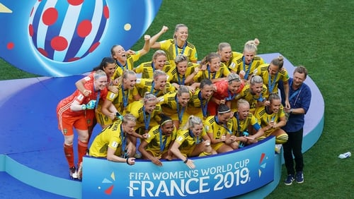 Sweden end the tournament on a high
