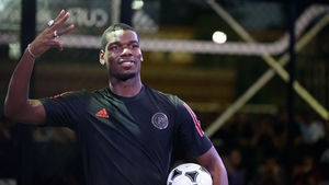 Pogba had been a doubt for the trip as reports that he is angling for a move away from Old Trafford picked up pace last week