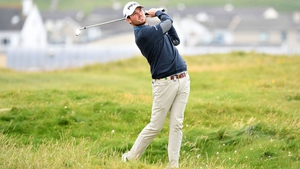 Cormac Sharvin in action at Lahinch earlier this summer