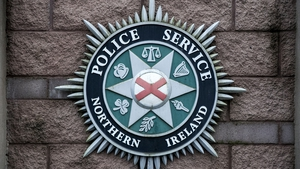 PSNI officers remain at the scene, and say their investigation is at an early stage