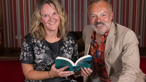 Graham Norton and Eimear O'Herlihy, Director of West Cork Literary Festival