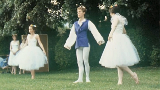 Ballet in the People's Park in Limerick (1979)