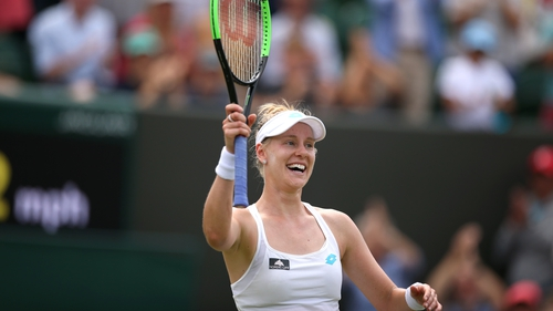 Wimbledon 2019: Johanna Konta into quarter-finals after beating Petra Kvitova