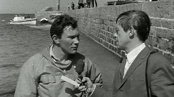 Tom McClean and Kevin Healy at Blacksod Bay in Mayo (1969)