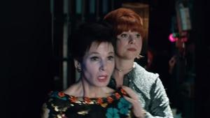 Renée Zellweger as Judy Garland and Jessie Buckley as Rosalyn Wilder in Judy Screengrab: Pathé/BBC Films