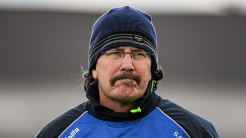 Seamus 'Cheddar' Plunkett in charge of Laois in 2016