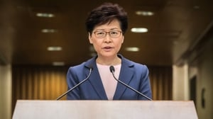 Carrie Lam admitted in a TV address the government's work on the bill had been a 'total failure'