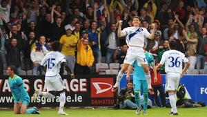 Dynamo Kiev broke Drogheda United's hearts back in 2008