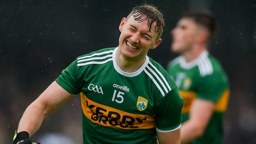 James O'Donoghue pulled up an injury against Clare