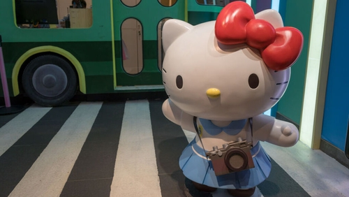 Hello Kitty has spawned a multi-billion-dollar industry since Sanrio introduced her in 1974