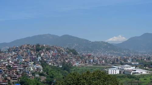 Dalglish was not in court for the hearing which was held in Kavre, 30km from Kathmandu (pictured)