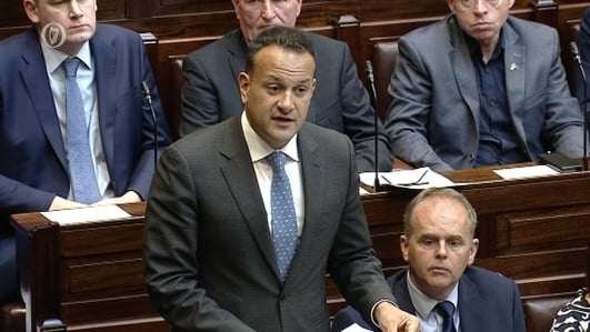 Taoiseach apologises over remarks he made last week