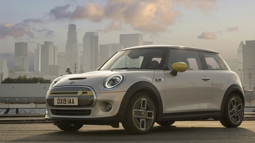 The new electric Mini is eco-friendly but incredibly agile.