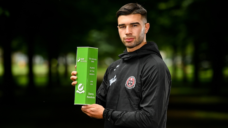 Mandroiu wins Player of the Month award for June