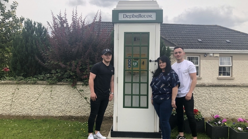Meath Family Re Purposes Phone Box To