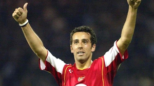Edu during his playing days for the Gunners