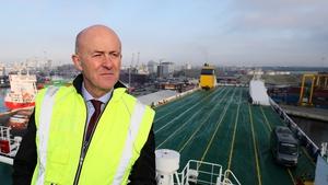 Dublin Port's chief executive Eamonn O'Reilly