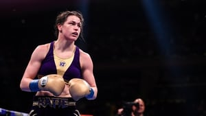 Katie Taylor is awaiting news of an opponent